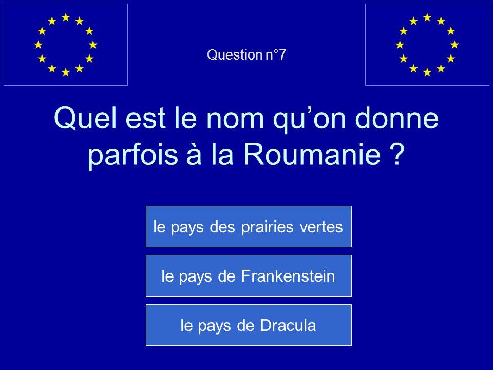 Mauvaise réponse… La Bulgarie est membre de lUE depuis 2007 Question suivante