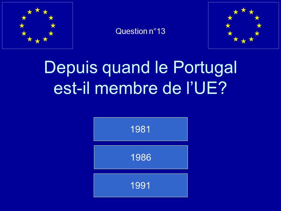 Mauvaise réponse… La République tchèque est membre de lUE depuis 2004 Question suivante