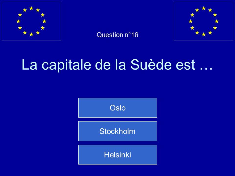 Mauvaise réponse… Le Luxembourg est un grand-duché Question suivante