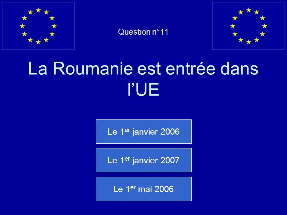 Mauvaise réponse… Le Traité de Versailles nest pas un traité de lUnion européenne Question suivante