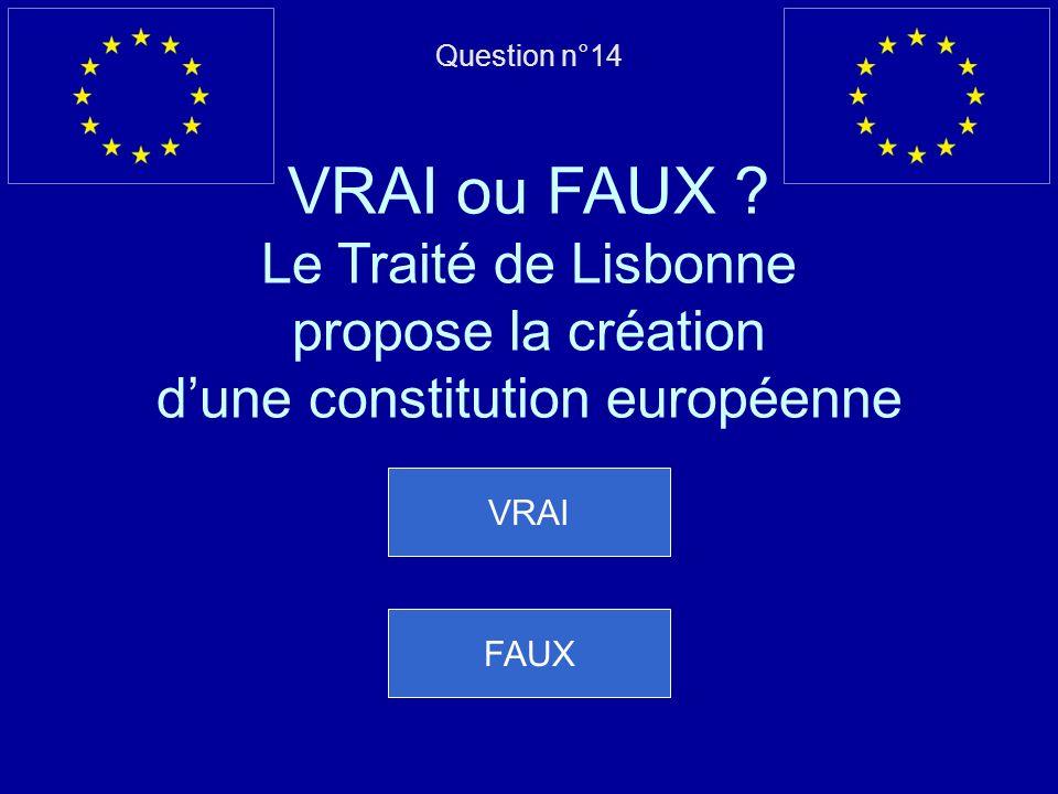 Mauvaise réponse… Le Royame-Uni est entré dans lUnion en 1973 Question suivante