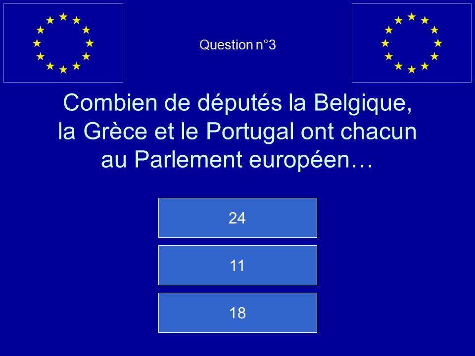 Mauvaise réponse… La coopération policière porte le nom de Europol Question suivante