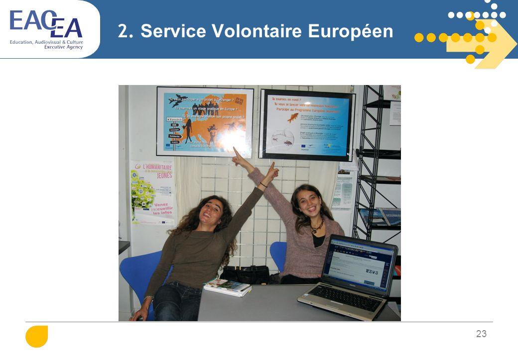 24 2. Service Volontaire Européen
