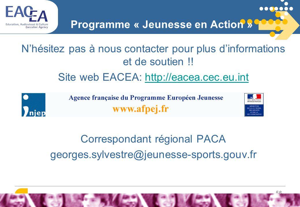 57 Programme « Jeunesse en Action »