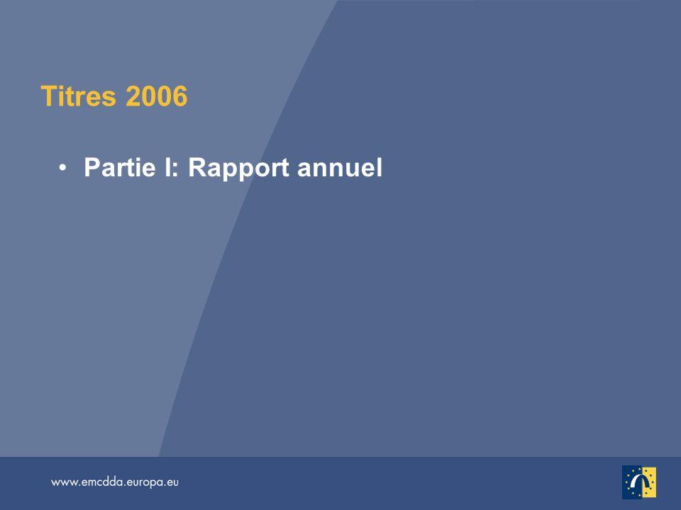 Titres 2006 Partie I: Rapport annuel