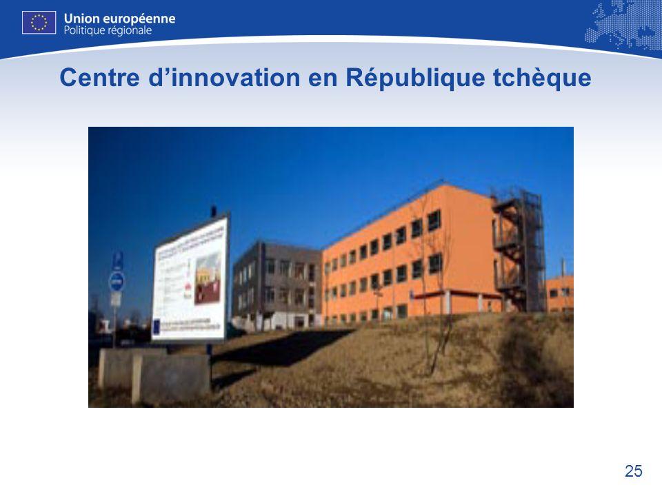 25 Centre dinnovation en République tchèque