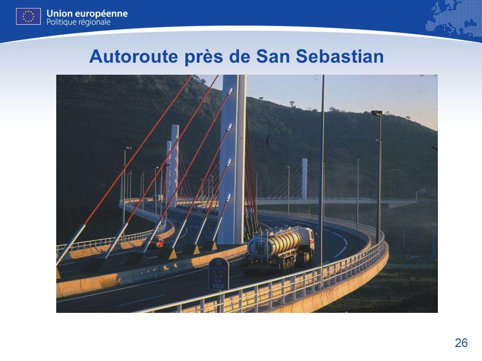 26 Autoroute près de San Sebastian
