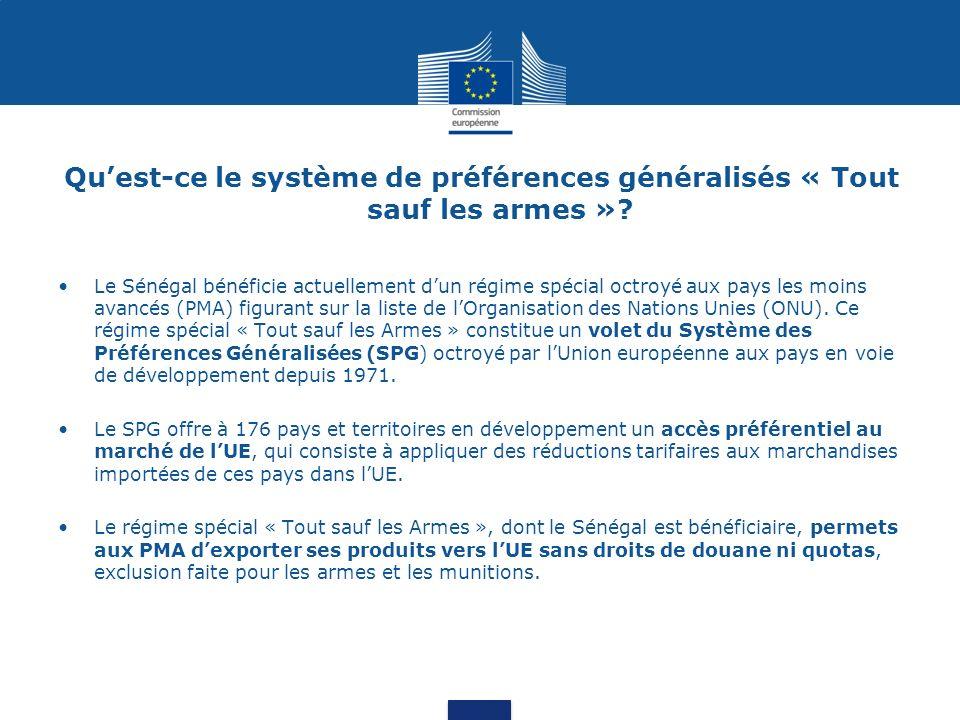 Réforme du SPG: points saillants 1.Focus sur les pays qui ont le plus besoin – Pays les moins avancés et des autres pays pauvres qui nont pas d autres voies dentrer préférentielles pour accéder au marché européen.
