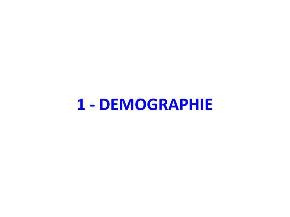 1 - DEMOGRAPHIE