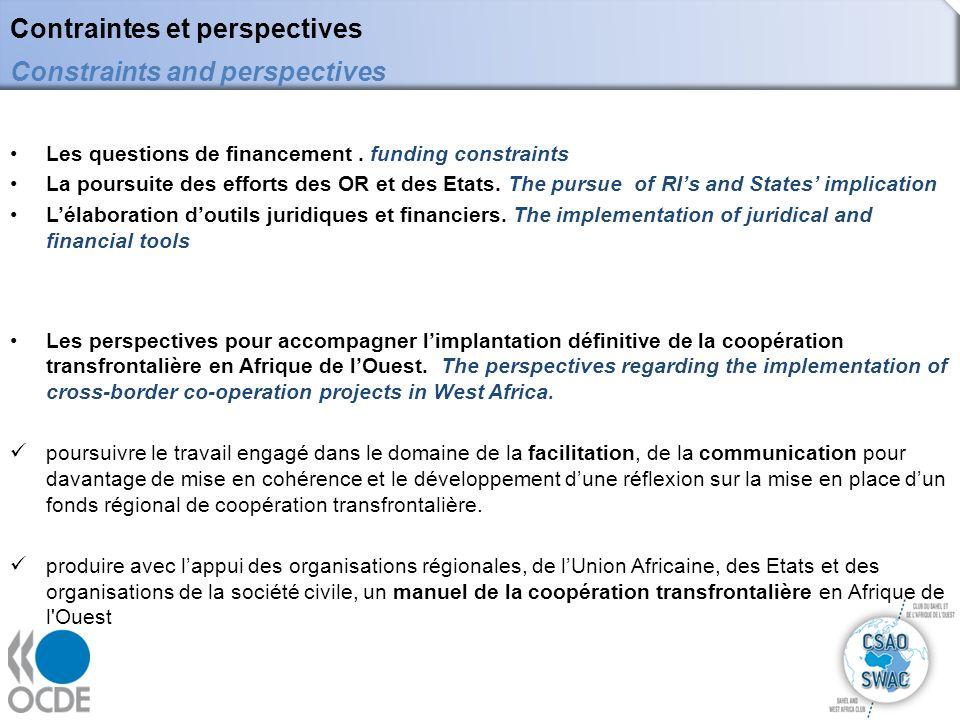 9 Le manuel sur la coopération transfrontalière : quelles perspectives pour lAfrique de lOuest .