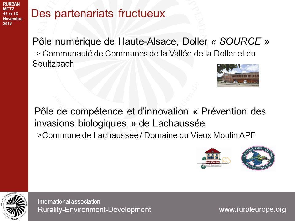 Des partenariats fructueux Pôle numérique de Haute-Alsace, Doller « SOURCE » > Communauté de Communes de la Vallée de la Doller et du Soultzbach www.r