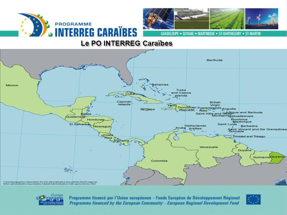Le PO INTERREG Caraïbes