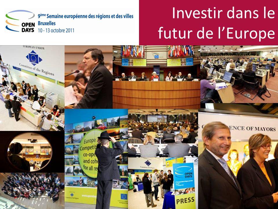 Investir dans le futur de lEurope