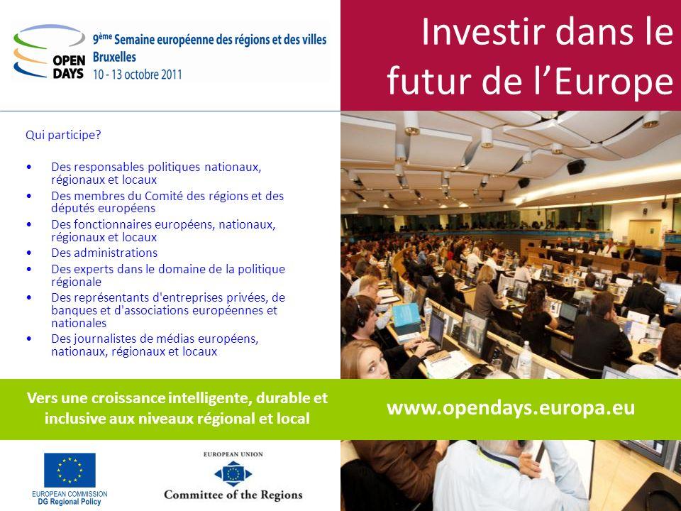Investir dans le futur de lEurope Comment s inscrire.