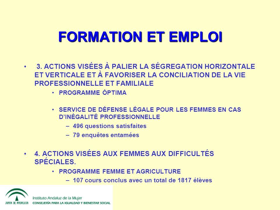 FORMATION ET EMPLOI 3.