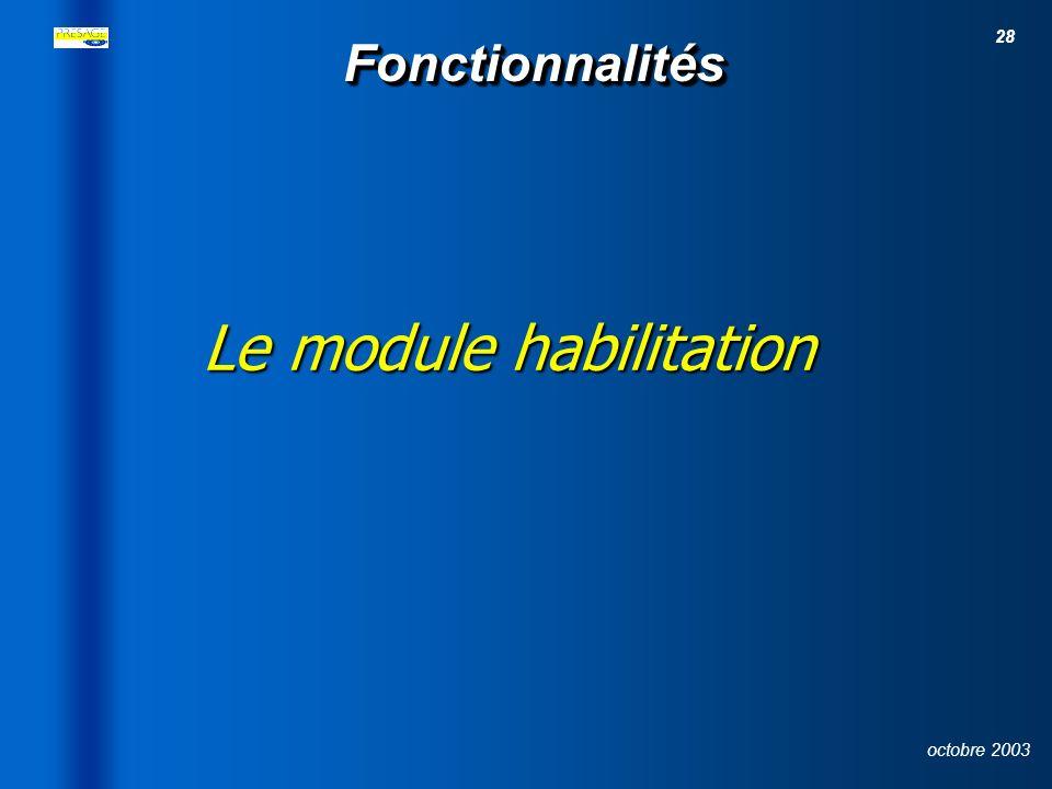 27 octobre 2003 Sommaire 1- Schéma institutionnel 2- Principes stratégiques 3- Architecture technique 4- Fonctionnalités