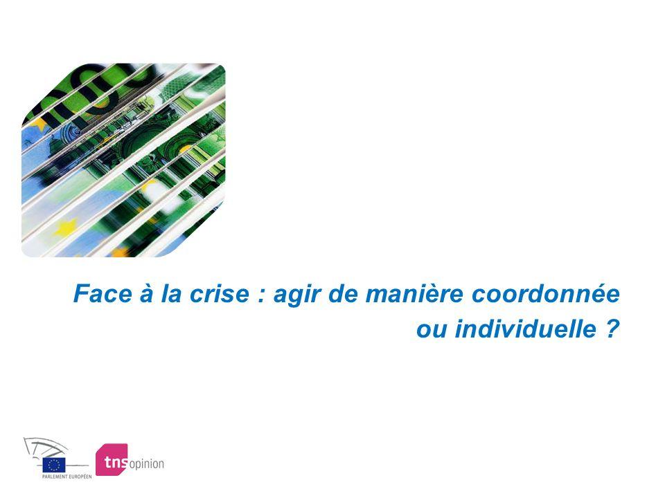 Face à la crise : agir de manière coordonnée ou individuelle