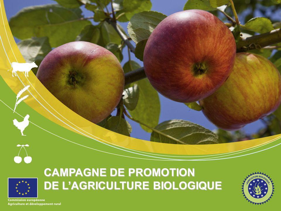 CAMPAGNE DE PROMOTION DE LAGRICULTURE BIOLOGIQUE