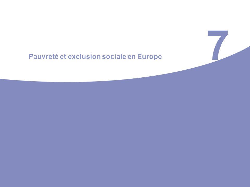 7 Pauvreté et exclusion sociale en Europe