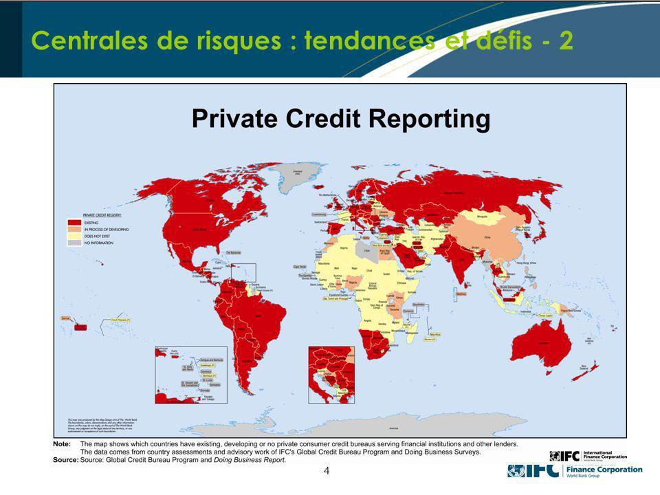 Centrales de risques : tendances et défis - 2 4