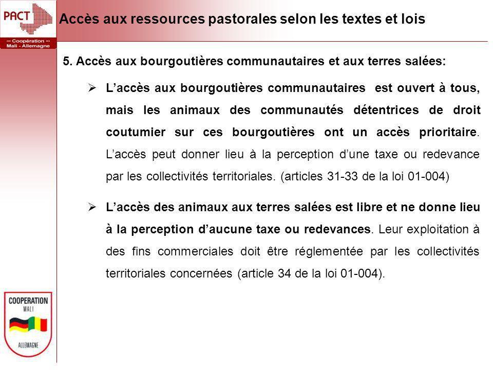 Les conventions locales et accès aux ressources pastorales Les conventions locales sont des règles consensuelles de gestion des ressources naturelles