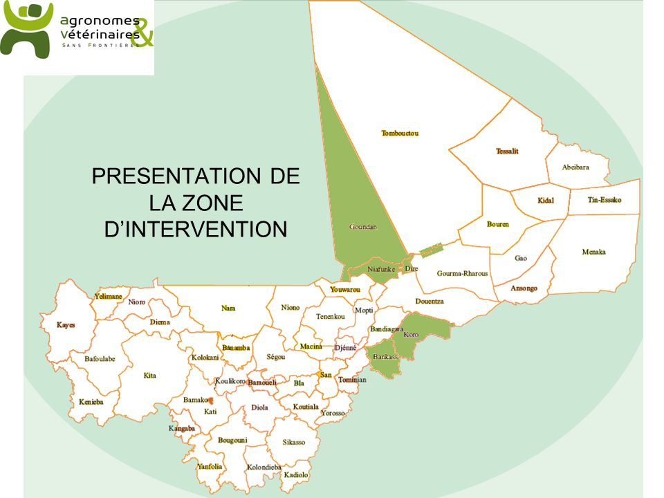 PRESENTATION DE LA ZONE DINTERVENTION