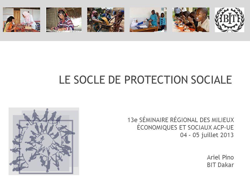Merci de votre aimable attention www.social-protection.org Ariel Pino pino@ilo.org