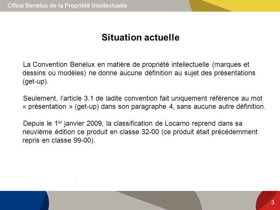Office Benelux de la Propriété Intellectuelle 3 La Convention Benelux en matière de propriété intellectuelle (marques et dessins ou modèles) ne donne