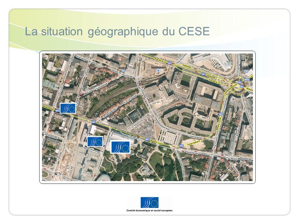 La position institutionnelle du CESE Commission européenne