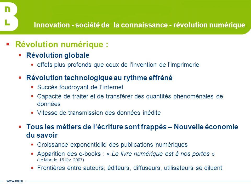 www.bnl.lu Mission patrimoniale Luxemburgensia online : 2 e étape – nouveau portail
