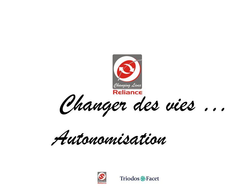 Changing Lives Changer des vies … Autonomisation