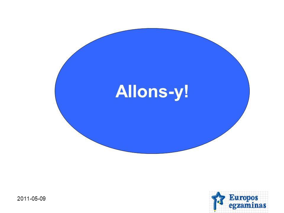 2011-05-09 Question 16 L Union européenne assure la libre-circulation des personnes.