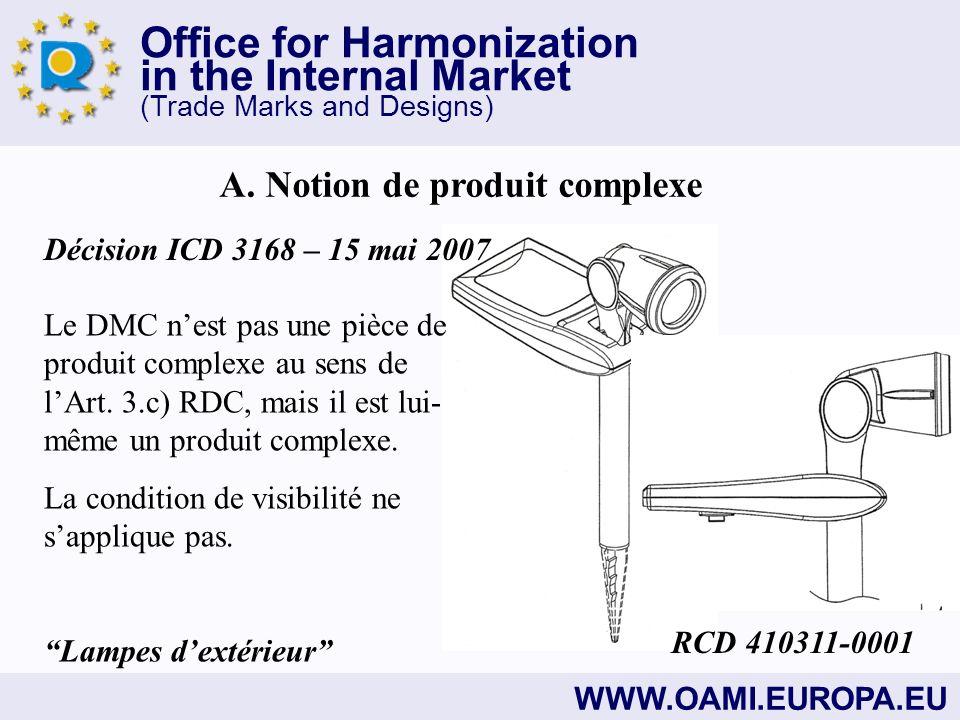Office for Harmonization in the Internal Market (Trade Marks and Designs) WWW.OAMI.EUROPA.EU B.