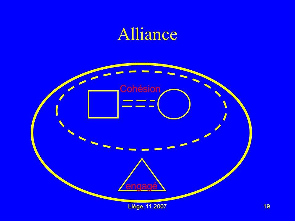 LIège, 11.200719 Alliance engagé Cohésion