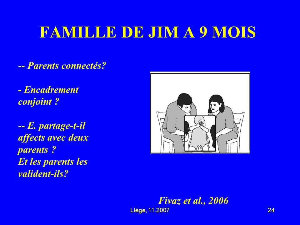 LIège, 11.200724 FAMILLE DE JIM A 9 MOIS Fivaz et al., 2006 -- Parents connectés.