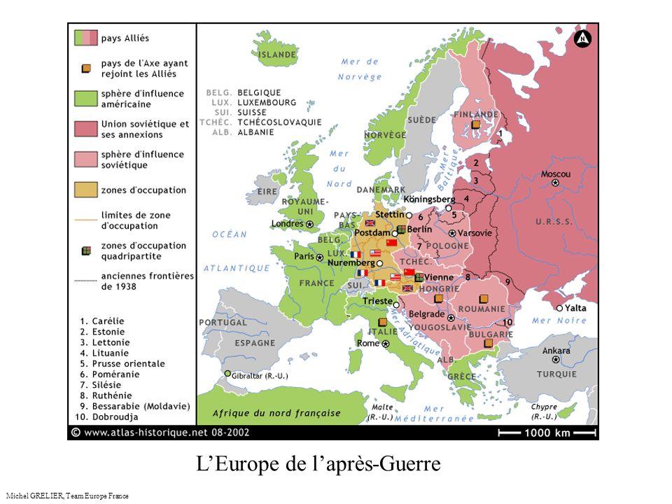 anceMichel GRELIER, Team Europe France LEurope de laprès-Guerre