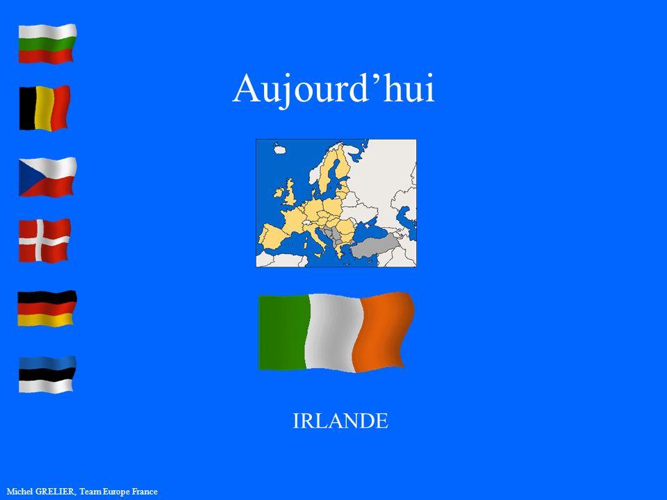 Aujourdhui Michel GRELIER, Team Europe France IRLANDE