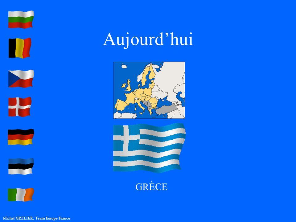 Aujourdhui Michel GRELIER, Team Europe France GRÈCE