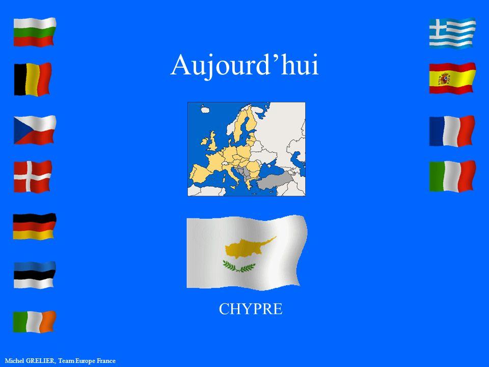 Aujourdhui Michel GRELIER, Team Europe France CHYPRE