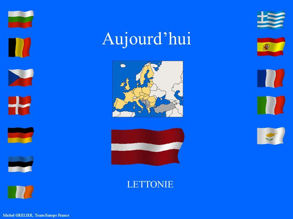 Aujourdhui Michel GRELIER, Team Europe France LETTONIE