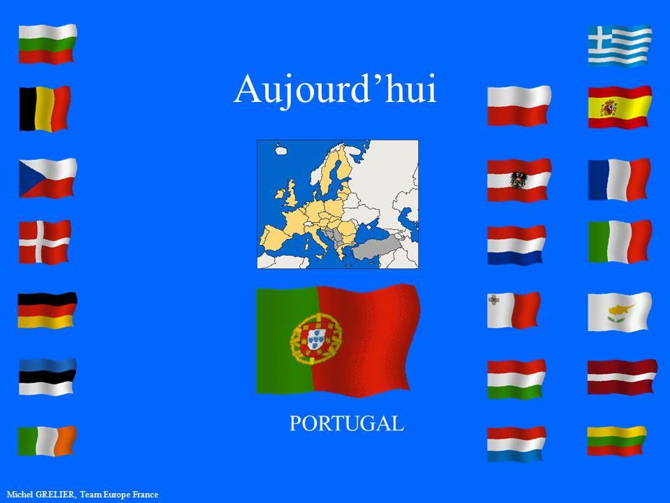 Aujourdhui Michel GRELIER, Team Europe France PORTUGAL