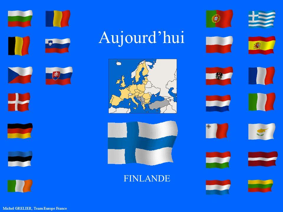 Aujourdhui Michel GRELIER, Team Europe France FINLANDE