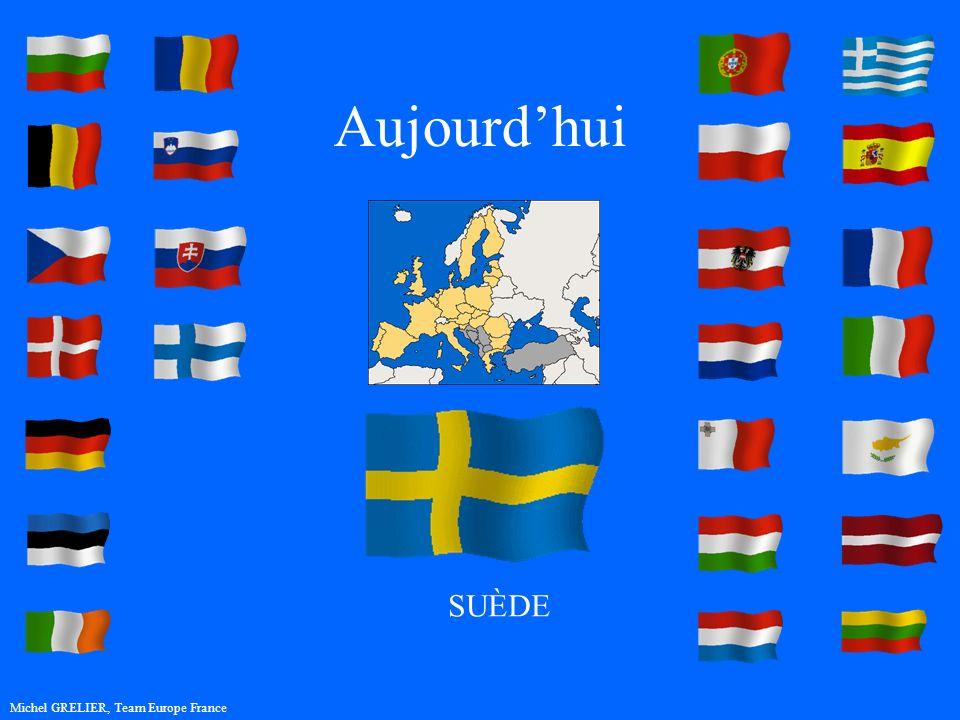 Aujourdhui Michel GRELIER, Team Europe France SUÈDE