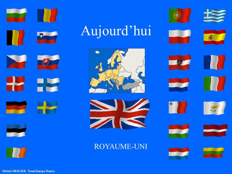 Aujourdhui Michel GRELIER, Team Europe France ROYAUME-UNI