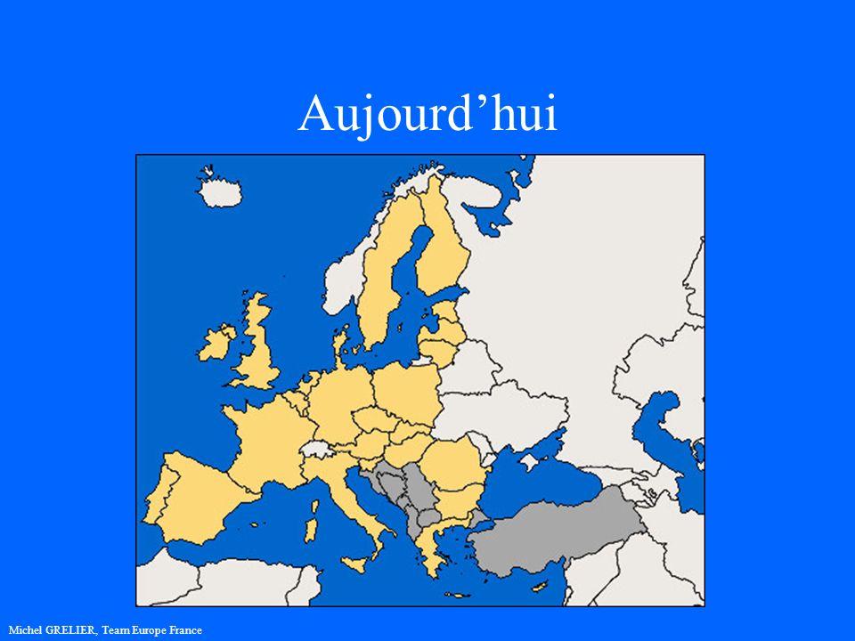 Aujourdhui Michel GRELIER, Team Europe France
