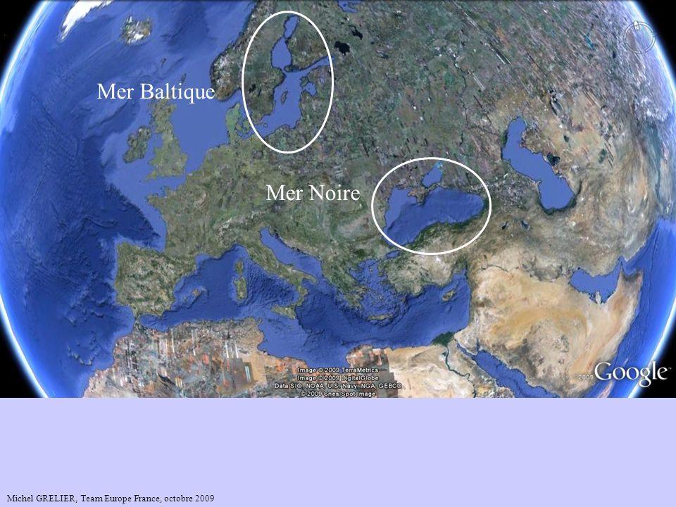 Mer Baltique Mer Noire Mer Caspienne Russie Michel GRELIER, Team Europe France, octobre 2009