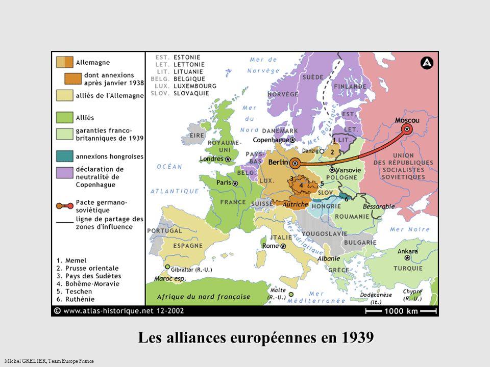 anceMichel GRELIER, Team Europe France Les alliances européennes en 1939