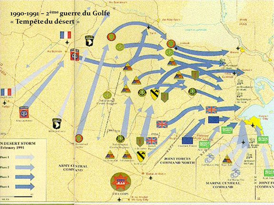 1990-1991 – 2 ème guerre du Golfe « Tempête du désert » 11