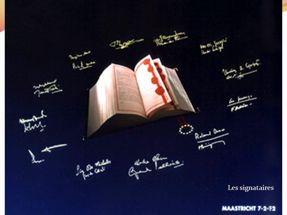 Les signataires 12