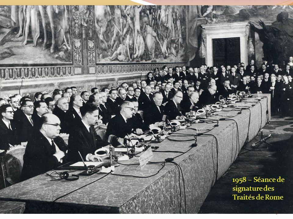 1958 – Séance de signature des Traités de Rome 19